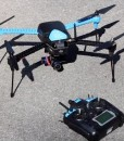3DR IRIS for gopro - with controller on ground