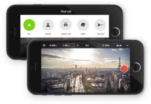 3DR Solo - app controller
