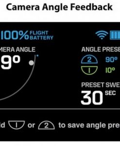 3DR Solo - controller - camera angle status