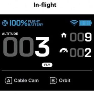 3DR Solo – controller – inflight status