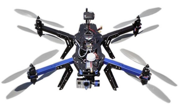 3DR X8+ top view