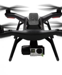 3DR solo - front view flying