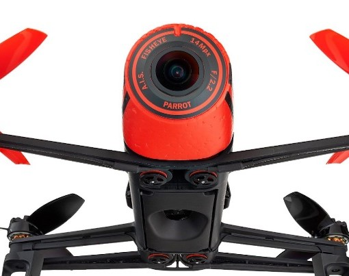 AR Parrot Bebop RED - camera view