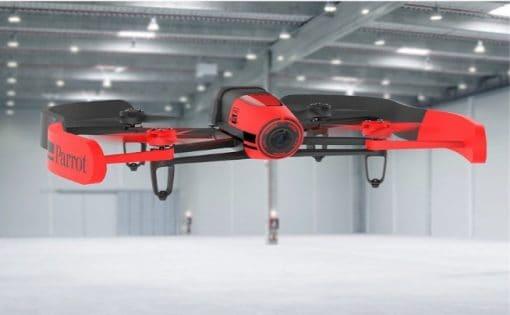 AR Parrot Bebop RED - flying indoor