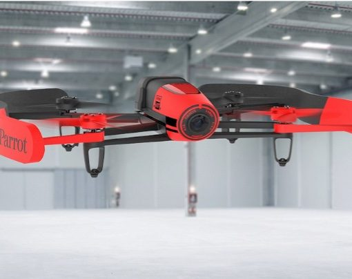 AR Parrot Bebop RED - flying indoor