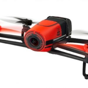 AR Parrot Bebop RED - front in flight 2