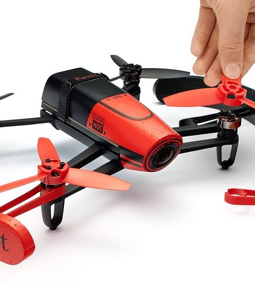 AR Parrot Bebop RED - prop guard