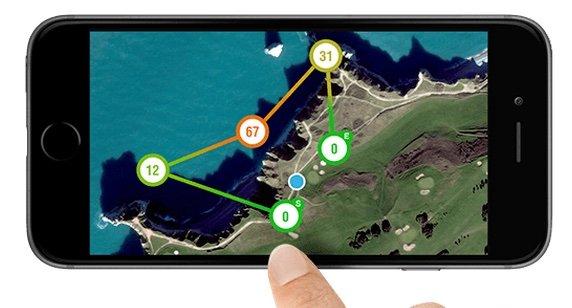 AR Parrot Bebop - app waypoint control