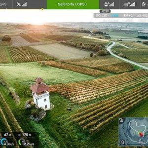 DJI Inspire 1 – FPV touchscreen controller