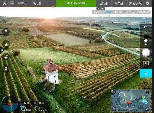 DJI Inspire 1 - FPV touchscreen controller