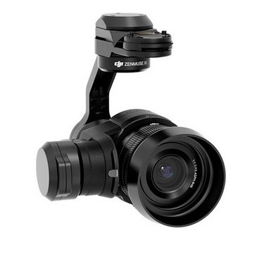 DJI Inspire 1 Pro - Zenmuse X5 with lens