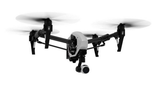DJI Inspire 1 - front view action shot