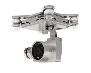 DJI Phantom 3 Professional - gimbal with camera