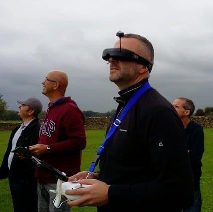 FPV racing glasses UK