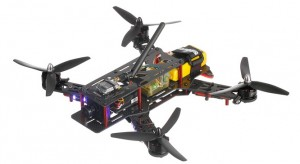 Helipal Storm Type A Racing Drone - above side view