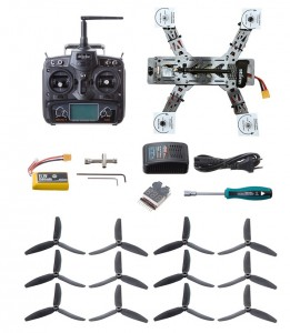 Helipal Storm Type A Racing Drone - full kit with spares