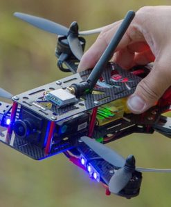 Helipal Storm Type A Racing Drone - in hand