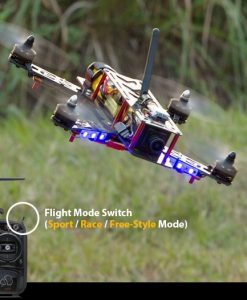 Helipal Storm Type A Racing Drone - three modes
