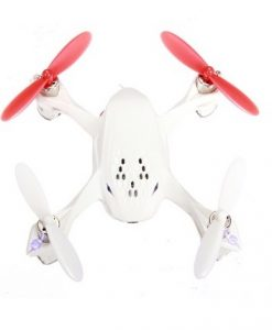 Hubsan H107D X4 Quadcopter WHITE - top view