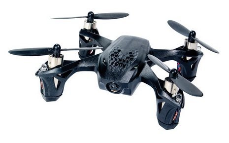 Hubsan H107D X4 Quadcopter - front view