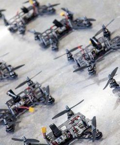 Lumenier QAV250 G10 RTF Racing Drone - bunch of racers lined up