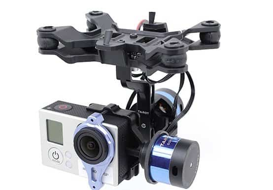 Tarot Brushless 2-axis gimbal for GoPro