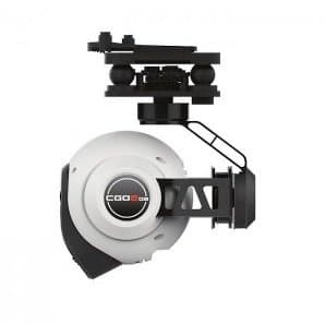 Yuneec Q500 Typhoon - gimbal side view