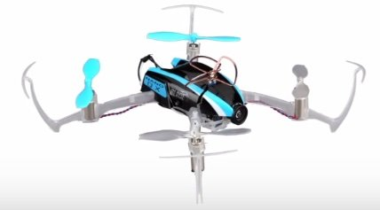 Blade Nano mini quadcopter - hobbytron front view