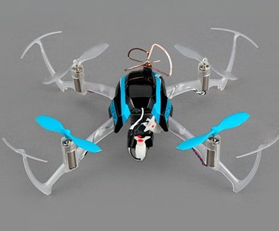 Blade Nano mini quadcopter - hobbytron top view