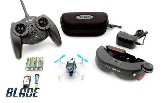 Blade Nano mini quadcopter with accessories