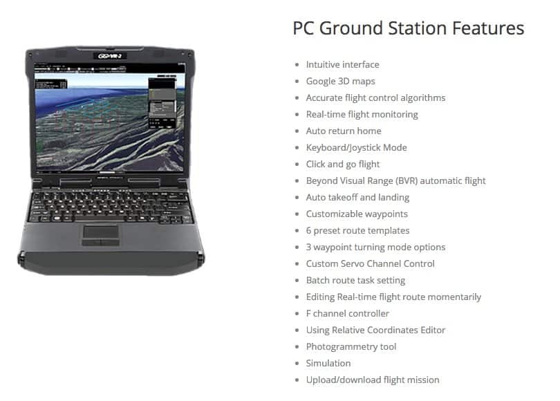 DJI Ground Station features