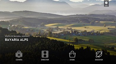 DJI M100 - mobile app bavaria