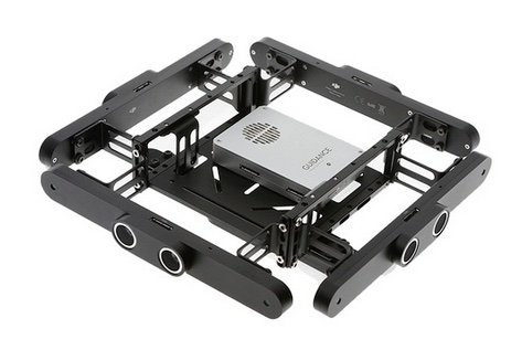 DJI M100 visual guidance system