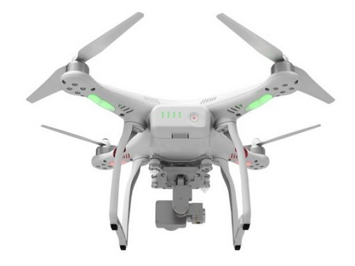 DJI Phantom 3 Standard - rear under view