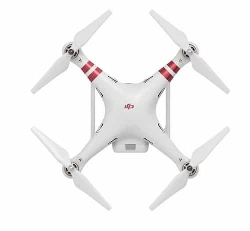 DJI Phantom 3 Standard - top view