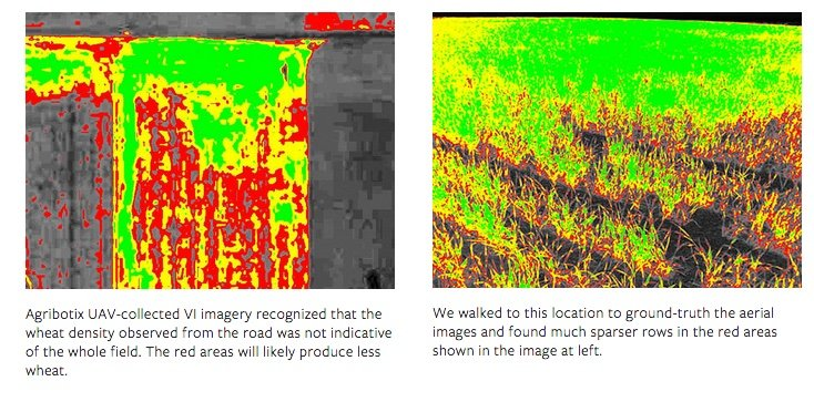 Agriculture Drone Buyers Guide - NDVI images reveal issues you cant see from the road
