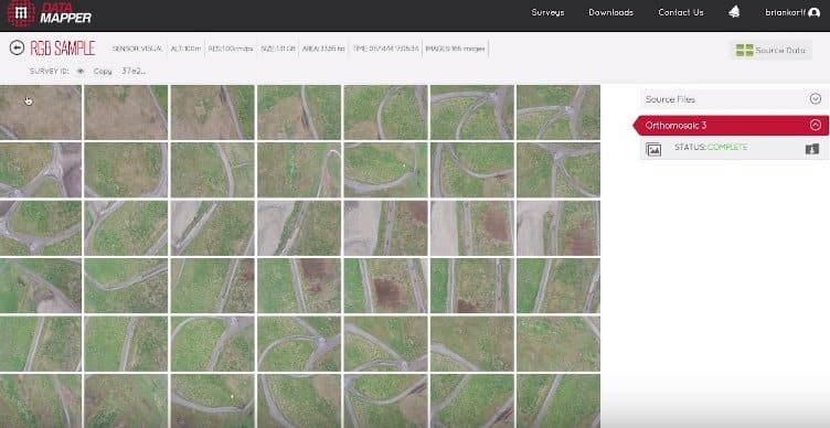 Agriculture Drones Buyers Guide - multiple hi res images captured and ready for processing