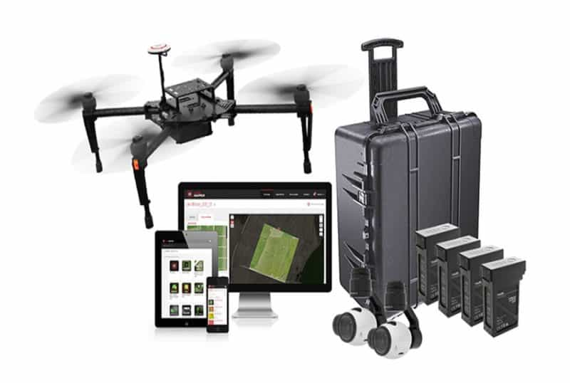 Agriculture drone buyers guide - DJI Smarter Farming package - full kit