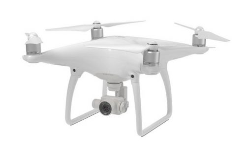 DJI Phantom 4 - front view angled