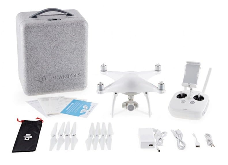 DJI Phantom 4 - full kit with case and spares