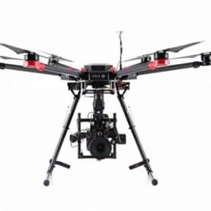DJI M600 – front view landing gear down