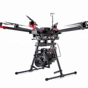 DJI M600 – landing gear down
