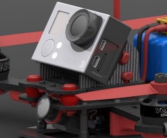 Vortex 250 PRO - camera mount