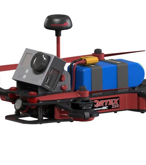 Vortex 250 PRO - side view flying