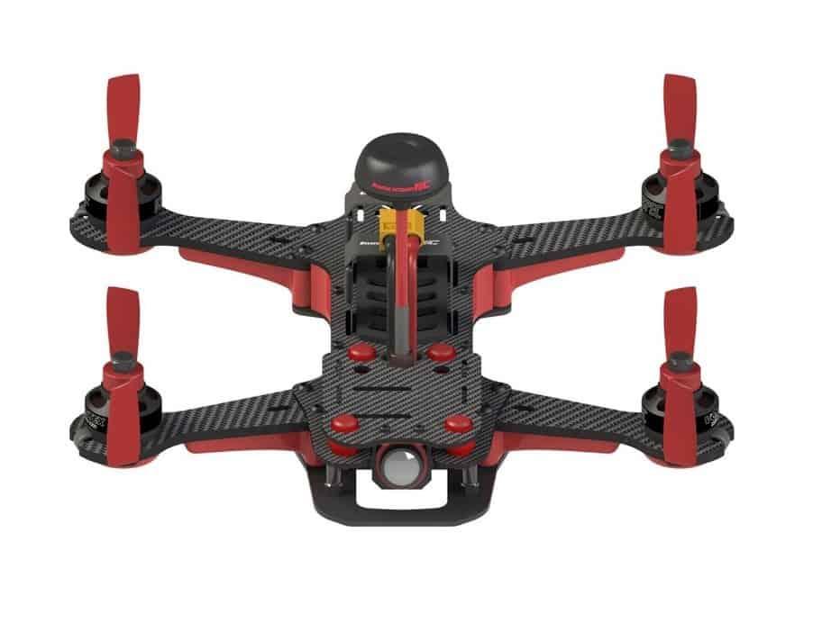 Vortex 250 PRO - top view flying