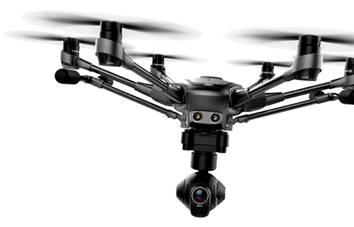 Yuneec Typhoon H - flying