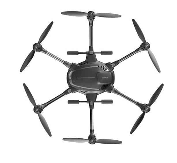 Yuneec Typhoon H - hexacopter configuration
