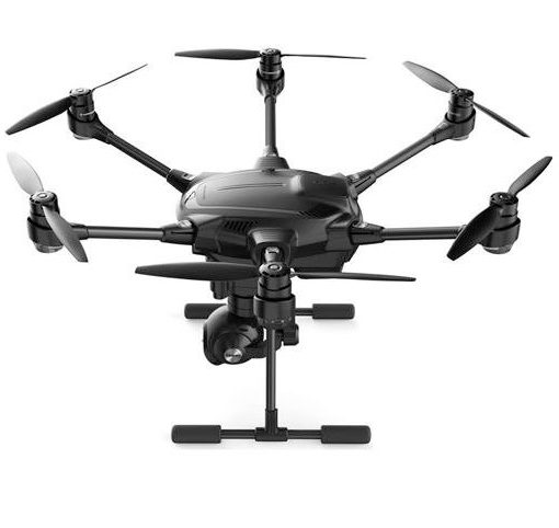 Yuneec Typhoon H - side view on ground