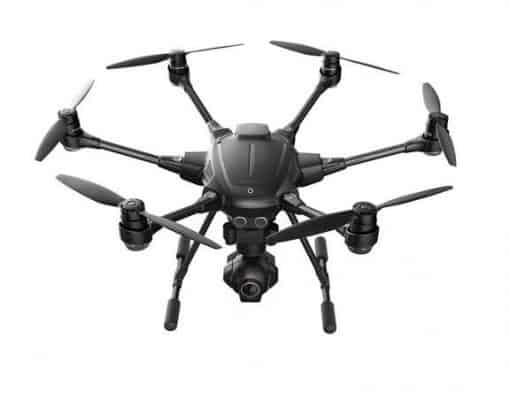 Yuneec Typhoon H - top view