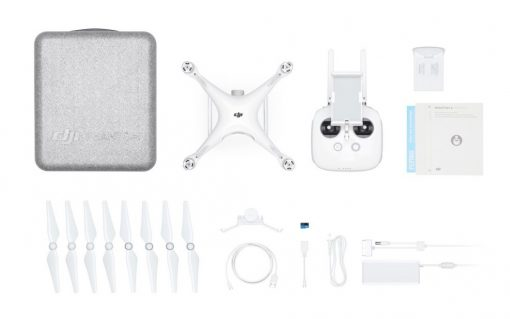 DJI Phantom 4 PRO - full kit with spares